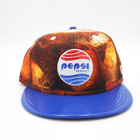 14fc12e476c01 RARE Japanese New Era   Pepsi Collab Fitted Hat